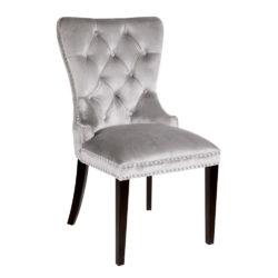 Euphoria Chair Grey Velvet