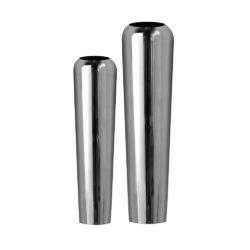 Aluminum Vases Set of 2
